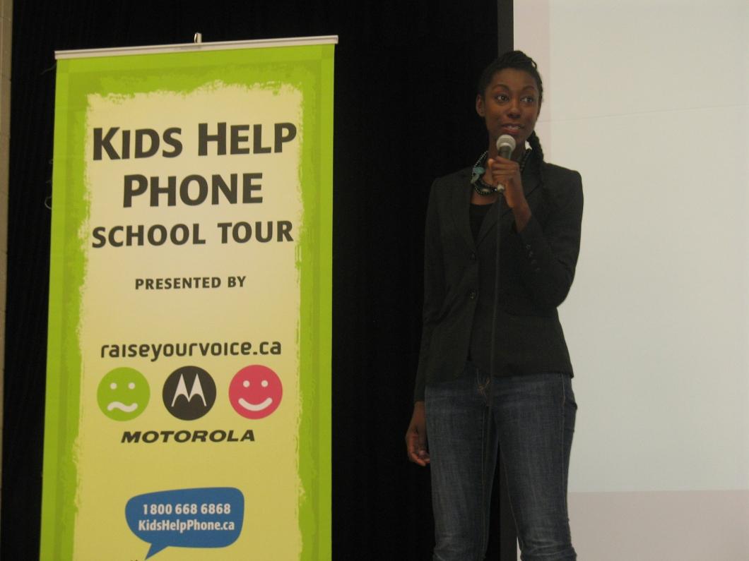 Kid's Help Phone Tour.