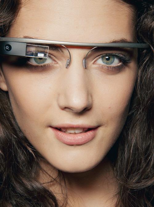 Google Glass partnered with Diane von Furstenburg for spring 2013.