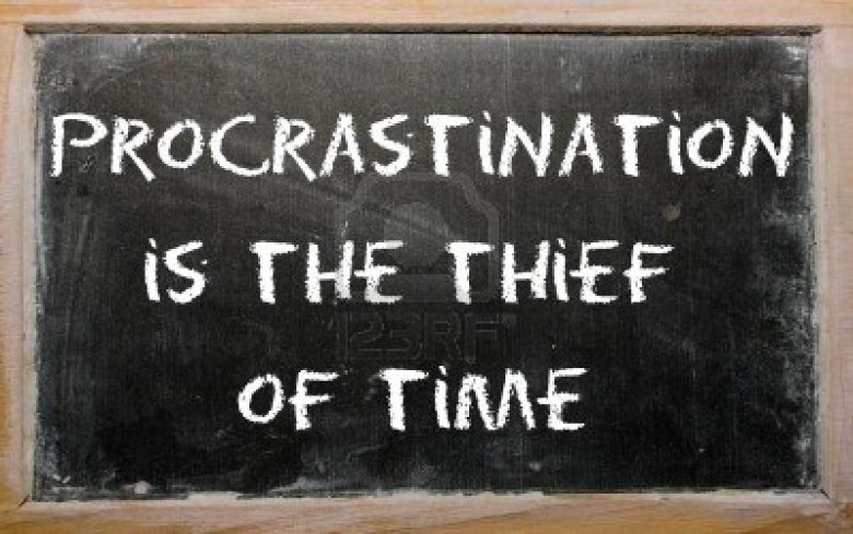 11002229-blackboard-writings-procrastination-is-the-thief-of-time