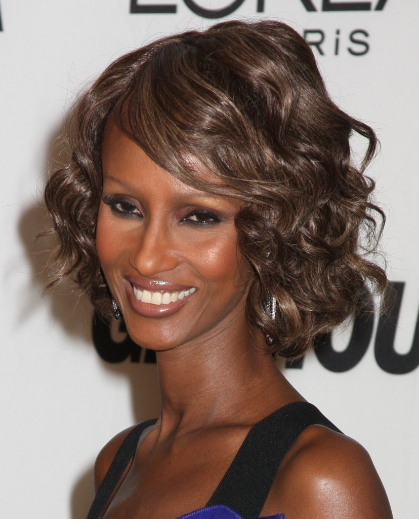 Cool Style Iman39S Secret To Great Skin Life With Ivy Short Hairstyles For Black Women Fulllsitofus