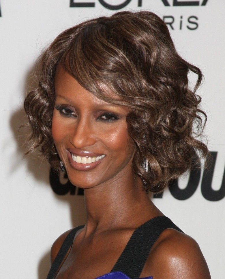 Supermodel Iman has timeless beauty.