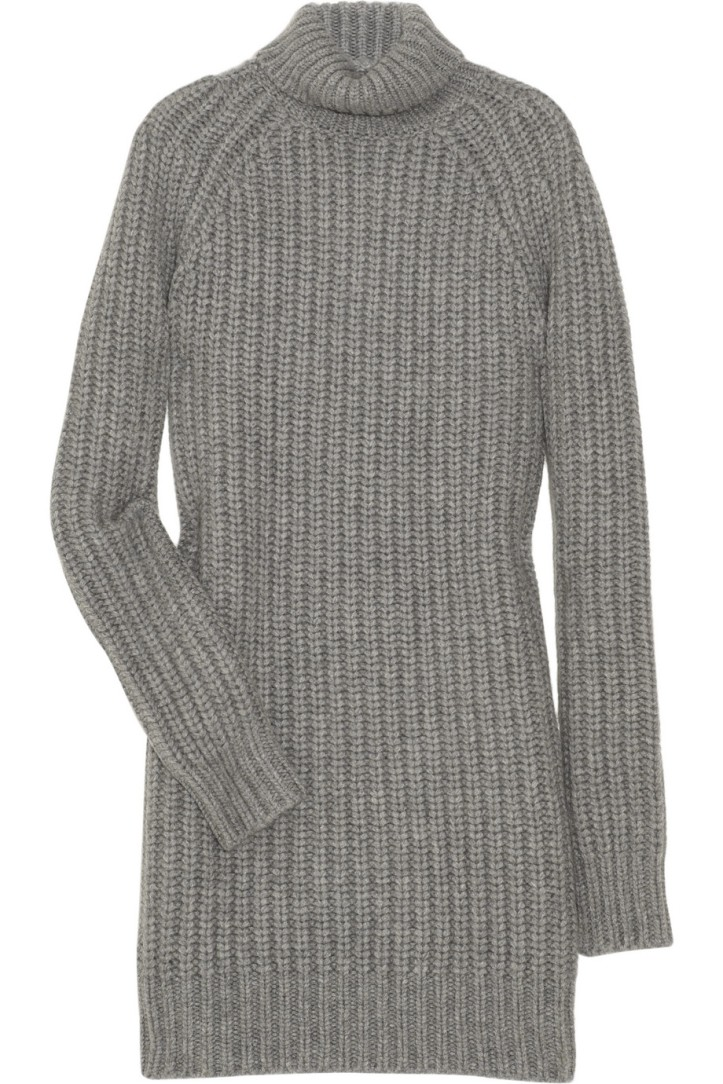 Michael Kors cashmere sweater dress.