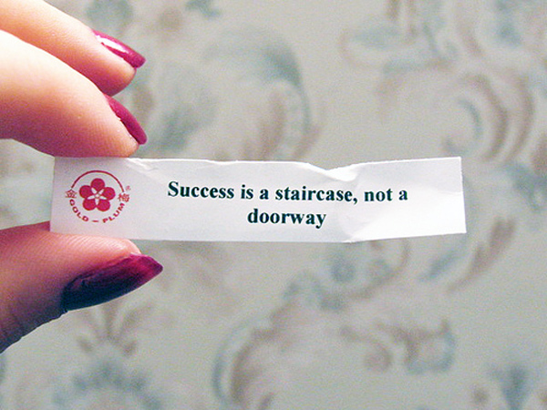success is a staircase
