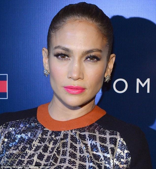Jennifer Lopez at New York Fashion Week.