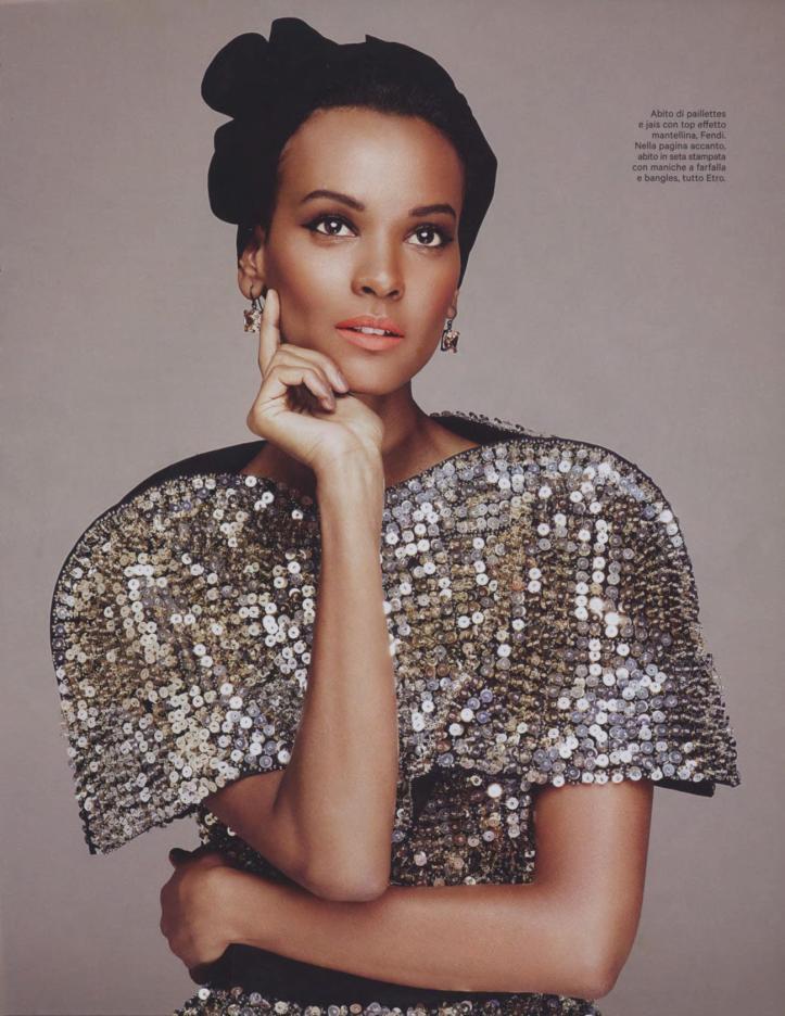 Model and Philanthropist, Liya Kibede.