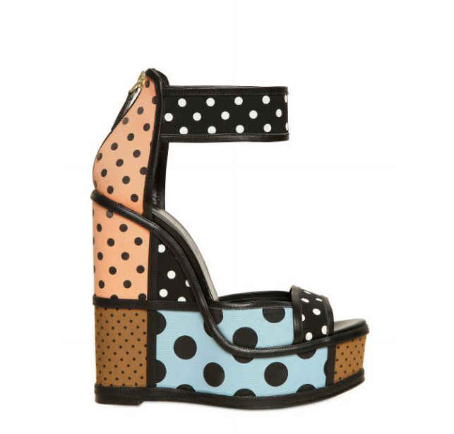 Pierre Hardy polka dot shoe.