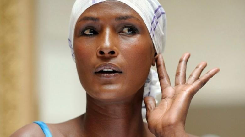 Model and Activist, Waris Dirie.