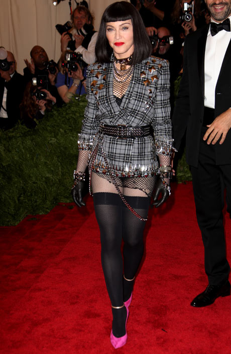 Madonna looking like it's 1985.