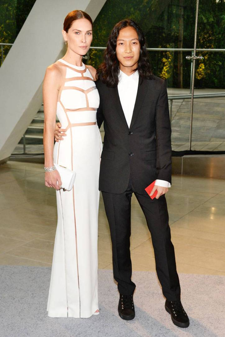 Erin Wasson and Alexander Wang.