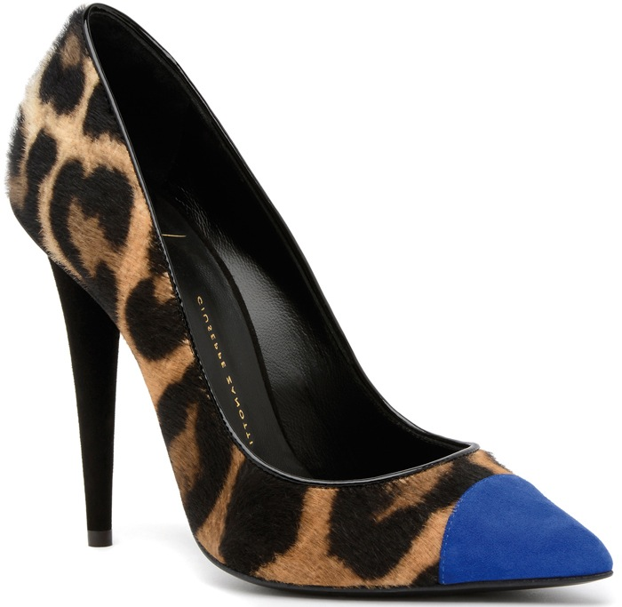 Giuseppe Zanotti pumps from the fall 2013 collection.