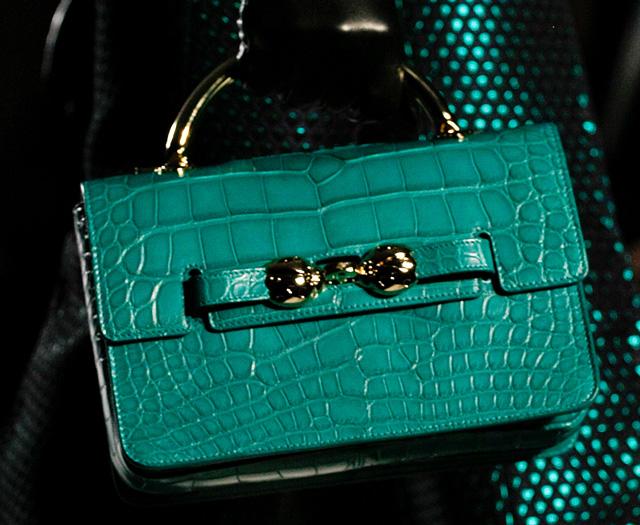 Mulberry Fall 2013 handbag in emerald green.