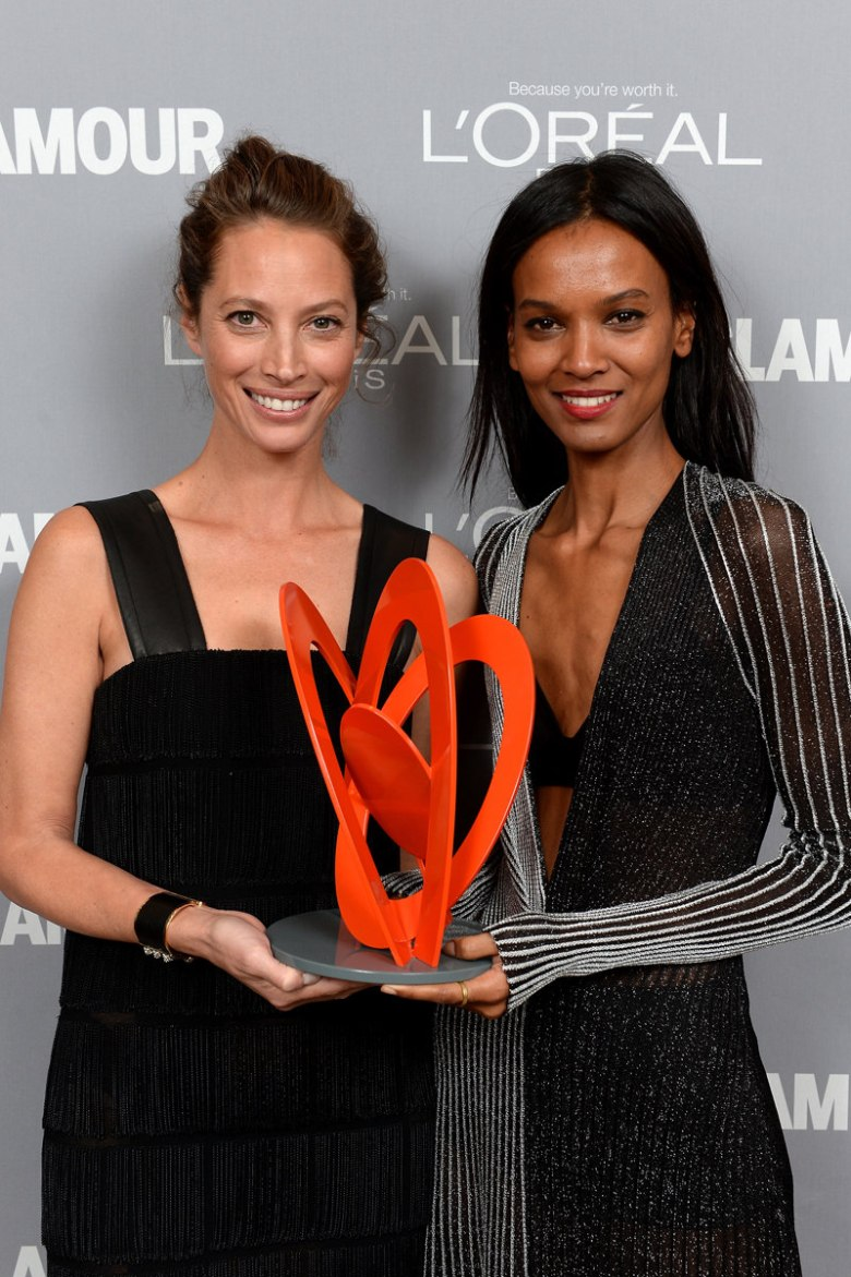 Christy Turlington-Burns and Liya Kebede.