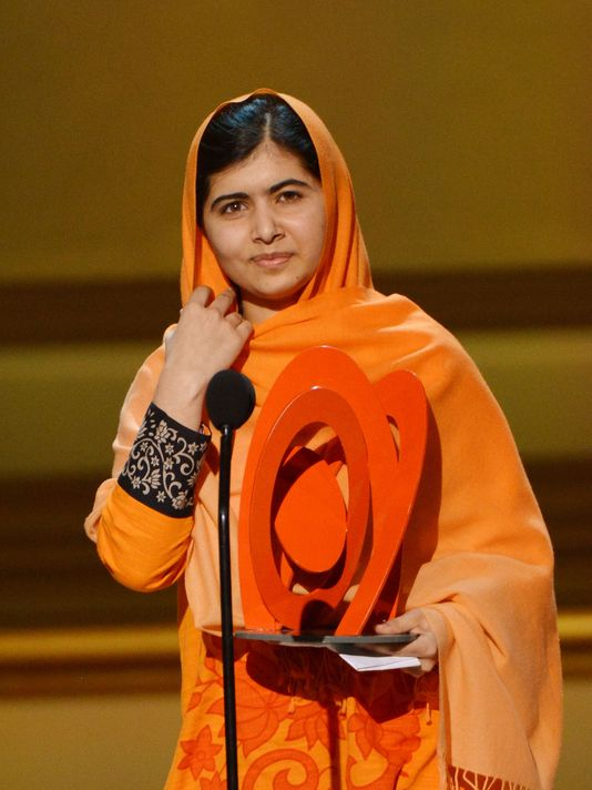 Malala Yousafzai honoured as the Woman of The Year.