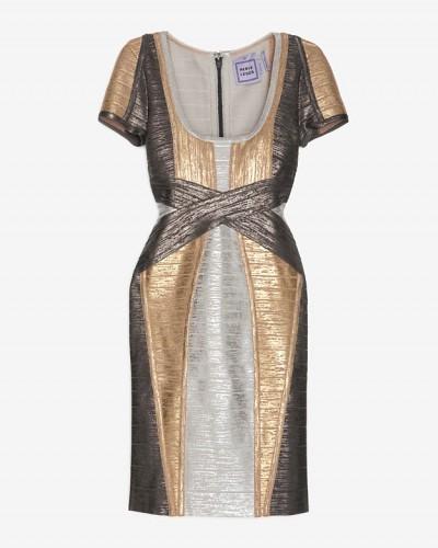 Herve Leger dress.
