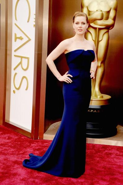 Amy Adams in Gucci.