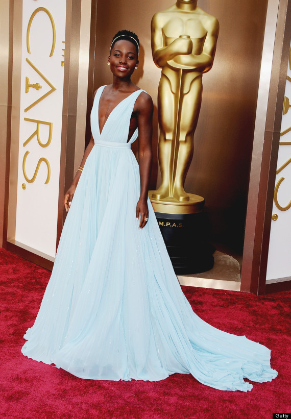 Lupita Nyong'o in Prada (Photo: Getty)