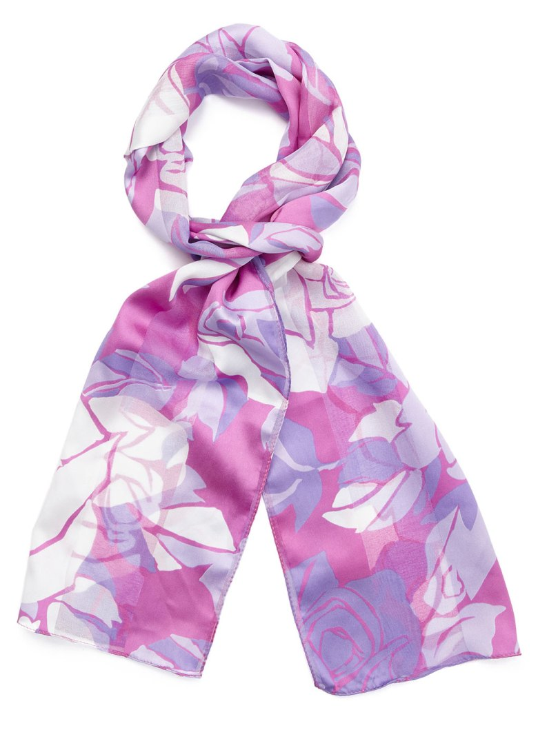 Floral scarf by BHS.