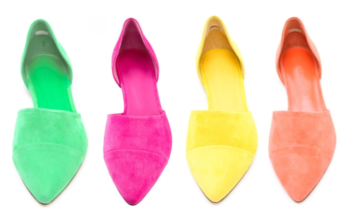 D'orsay flats by Jenni Kayne.  (prices range from $475-$630 USD)