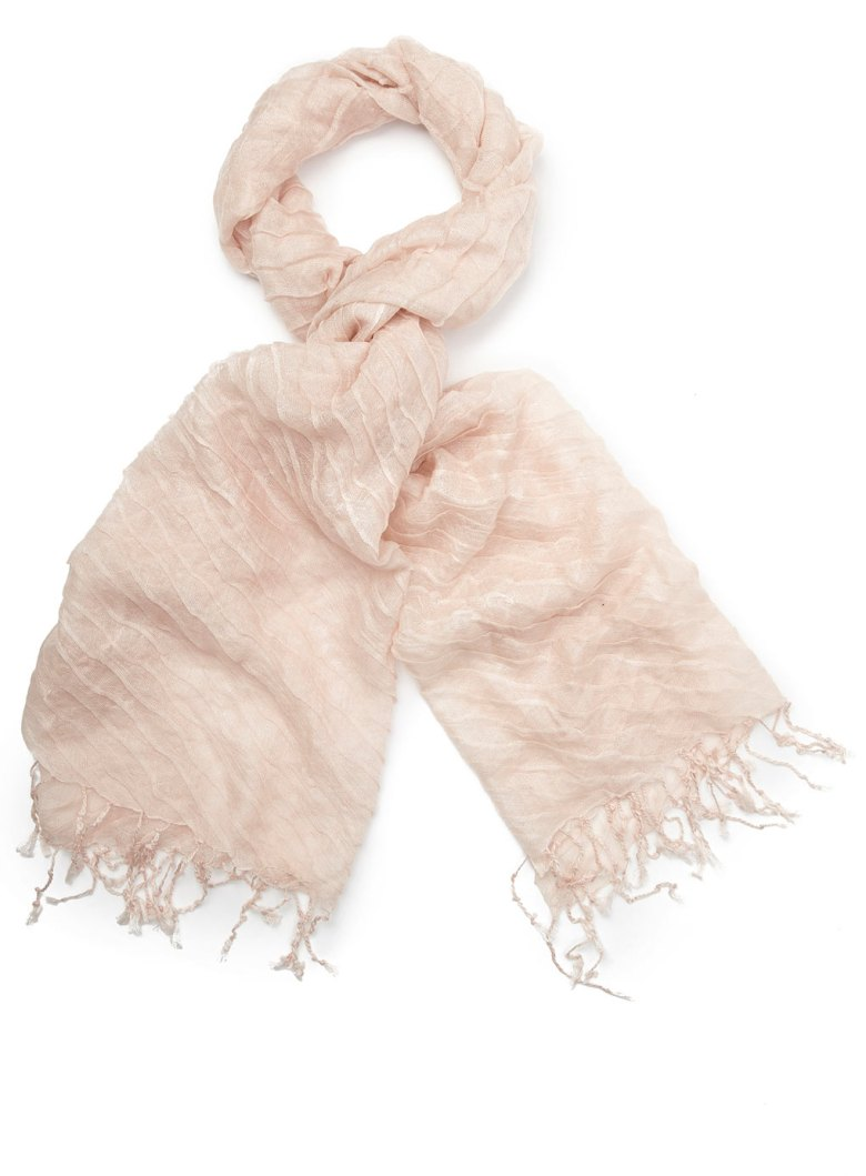 Pale pink scarf by BHS.