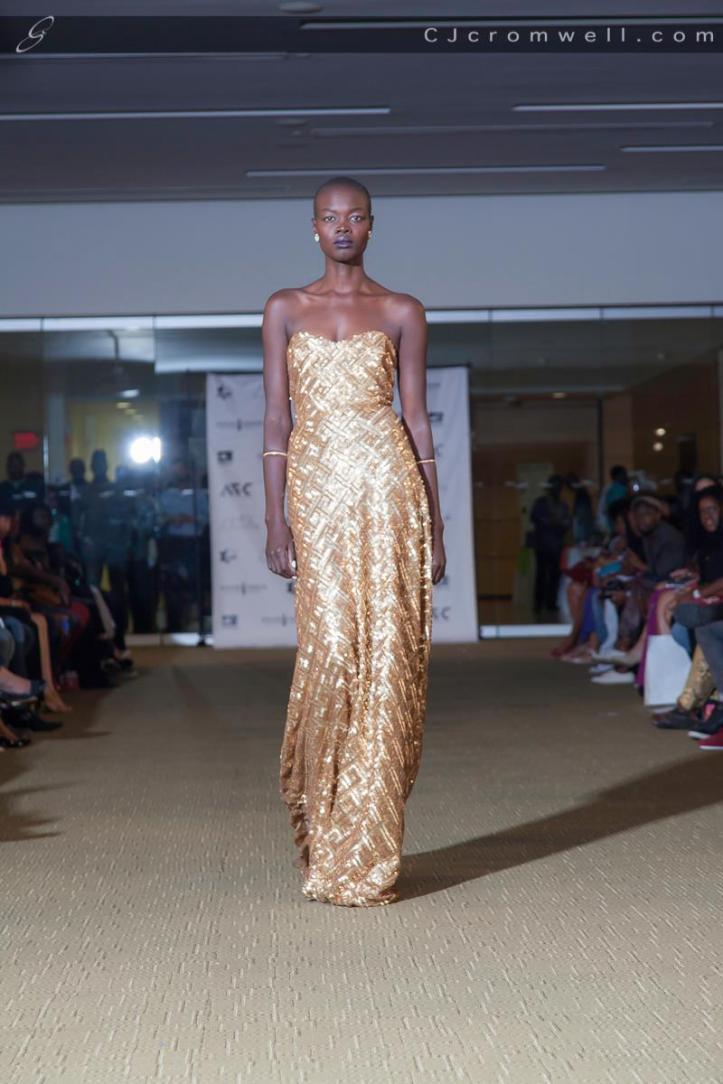 Aroshna gown. (Photo: CJ Cromwell)