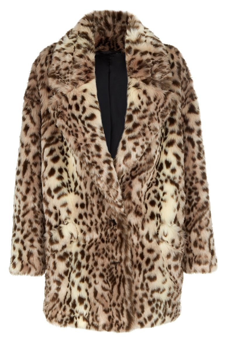 River Island leopard print coat winter 2014 collection.