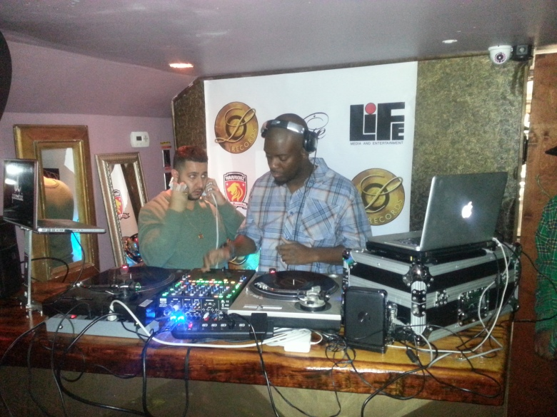 DJ Team Bravo worked on bringing a music vibe that fused both old and new sounds.