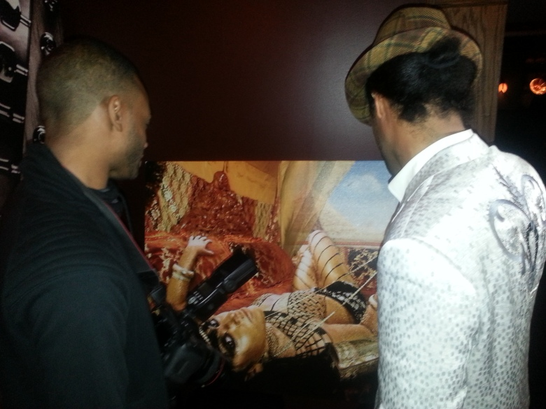 The two artists discuss the creative process.