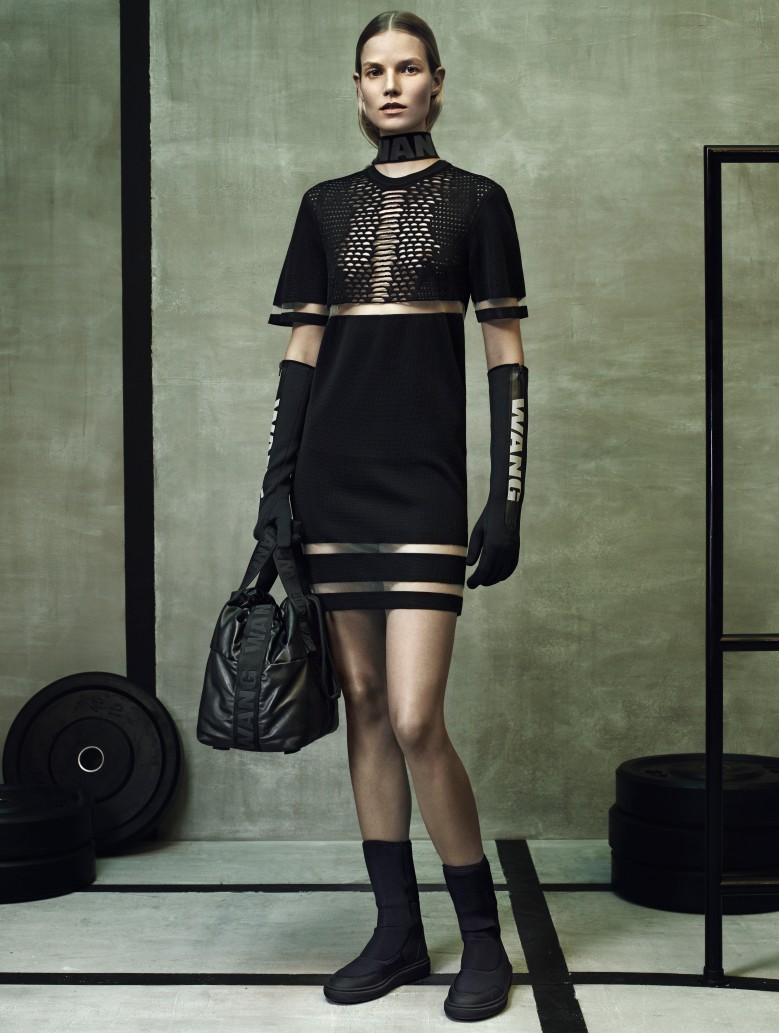 Alexander Wang x H&M. Image courtesy H & M Hennes & Mauritz.