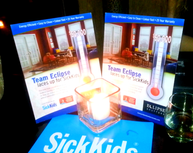 Sick Kids Hospital Foundation used the event as an opportunity to raise awareness and funds.