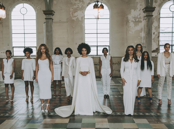 solange wedding party