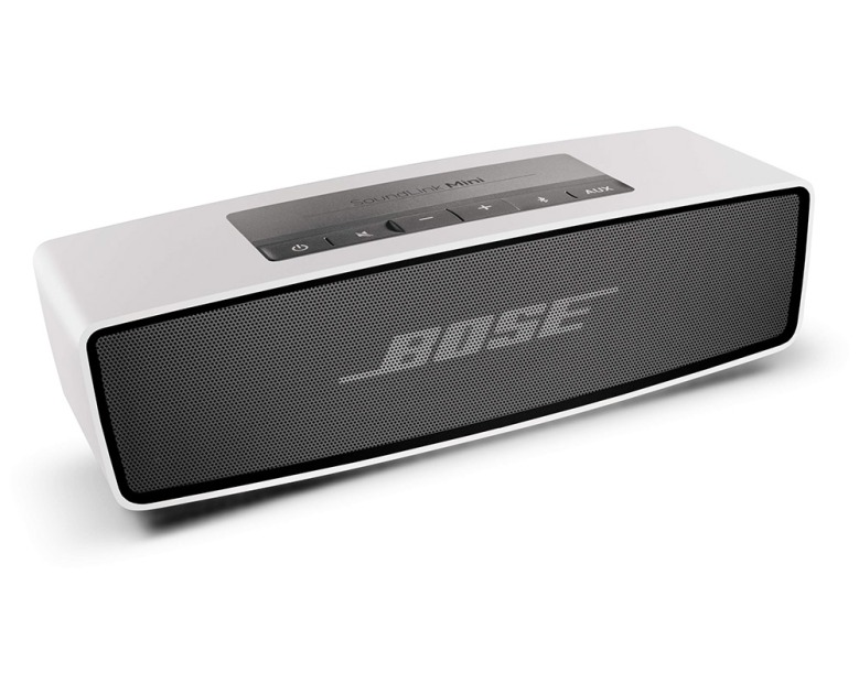 Bose Bluetooth speaker delivers high quality sound.