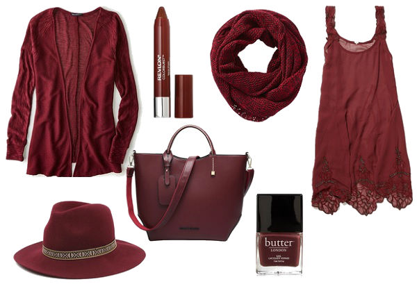 What will you choose to add a little Marsala into your wardrobe?
