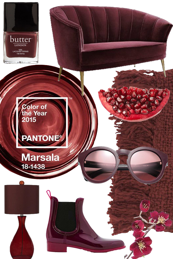MarsalaPantone2015ALDS Marsala is Colour of The Year