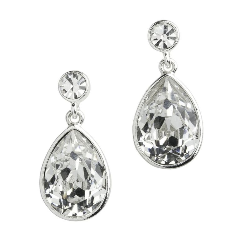 Drop earrings are always a classic that can be worn year after year.