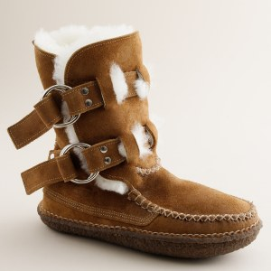 Quoddy boots available at J. Crew