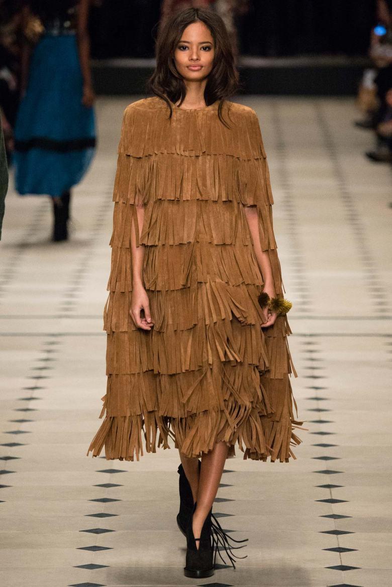 Burberry Prorsum fall 2015 at London Fashion Week.
