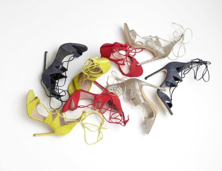 Legwrap sandals by Stuart Weitzman.