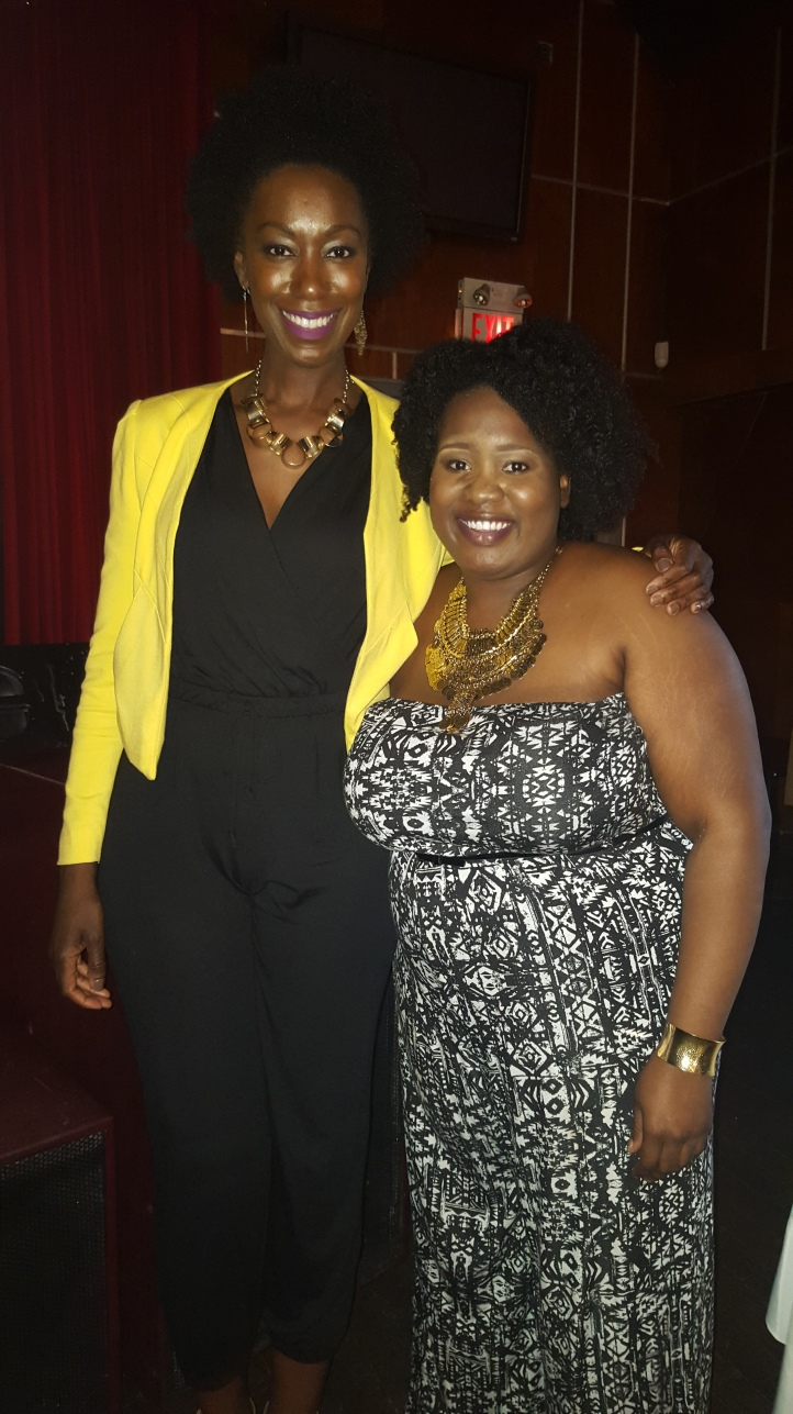 My with Monique London, the founder of London Ivy Products and Host/Creator of the Politics of  Hair Series.