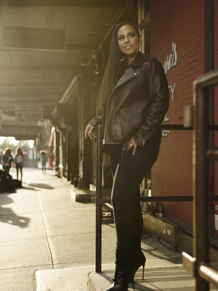 Alicia Keys partners with the Levi's brand to launch all new women's denim collection (PRNewsFoto/The Levi's(R) brand)