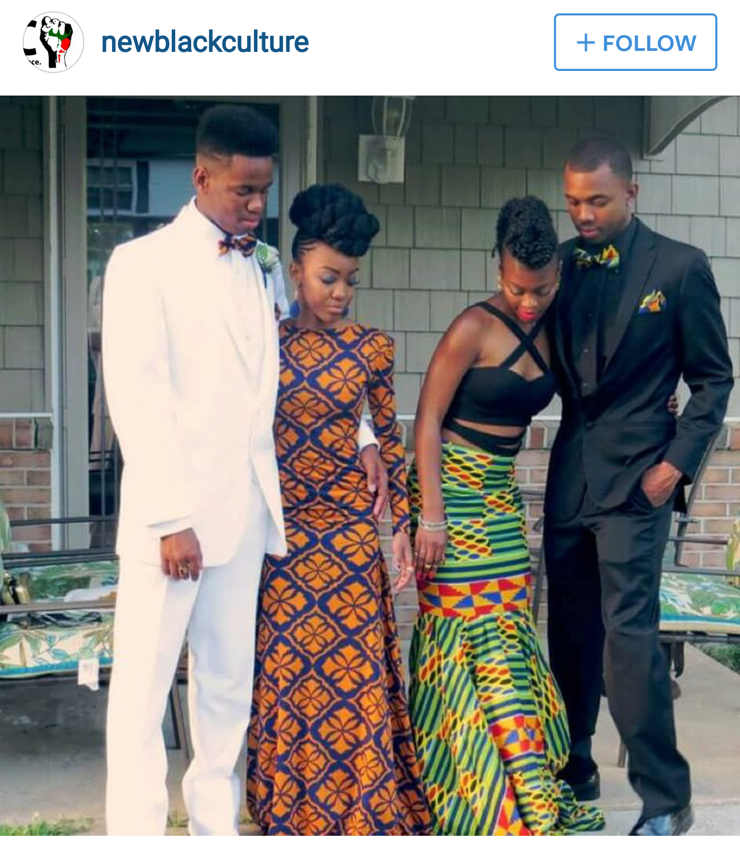 Lets Talk About That African Inspired Prom Dress