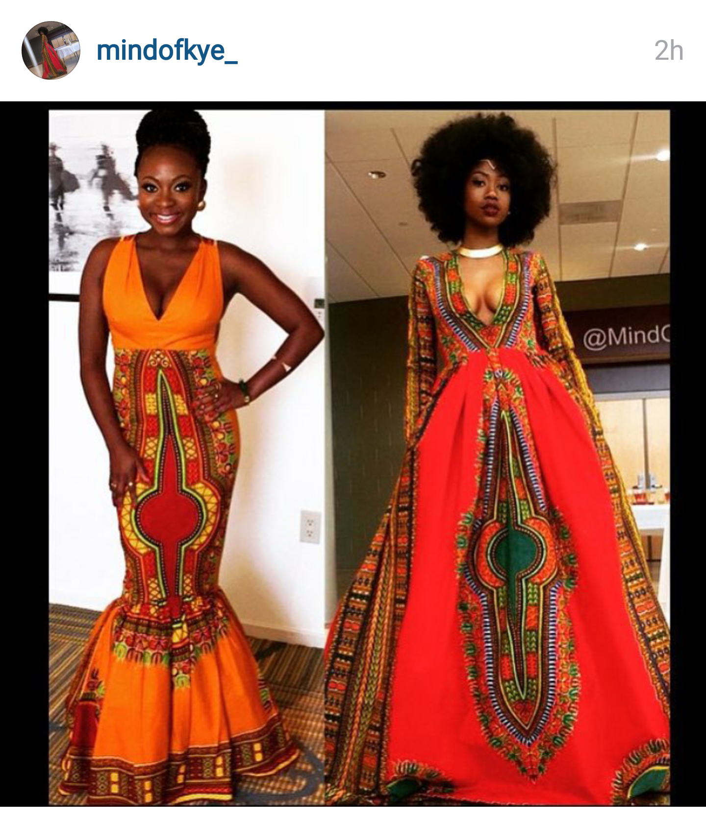 Let\'s Talk About that African Inspired Prom Dress