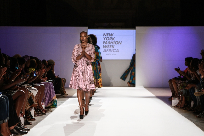 Asikere Afana New York Fashion Week Africa 2