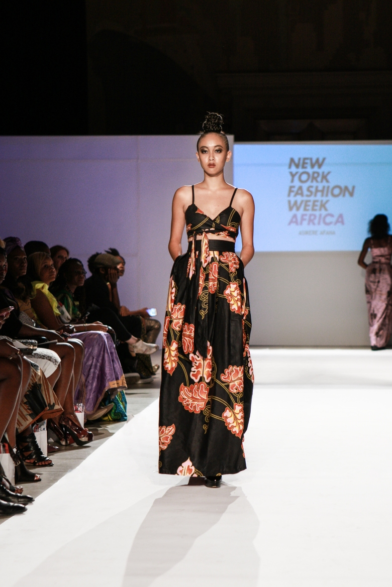 Asikere Afana New York Fashion Week Africa 3