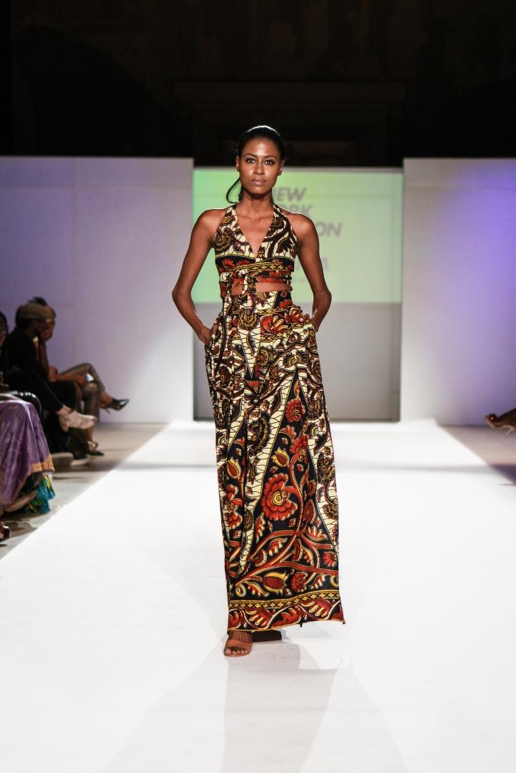 Asikere Afana New York Fashion Week Africa 5