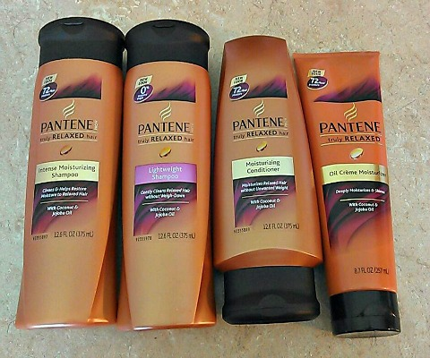Pantene's Truly Relaxed products are designed for relaxed hair.