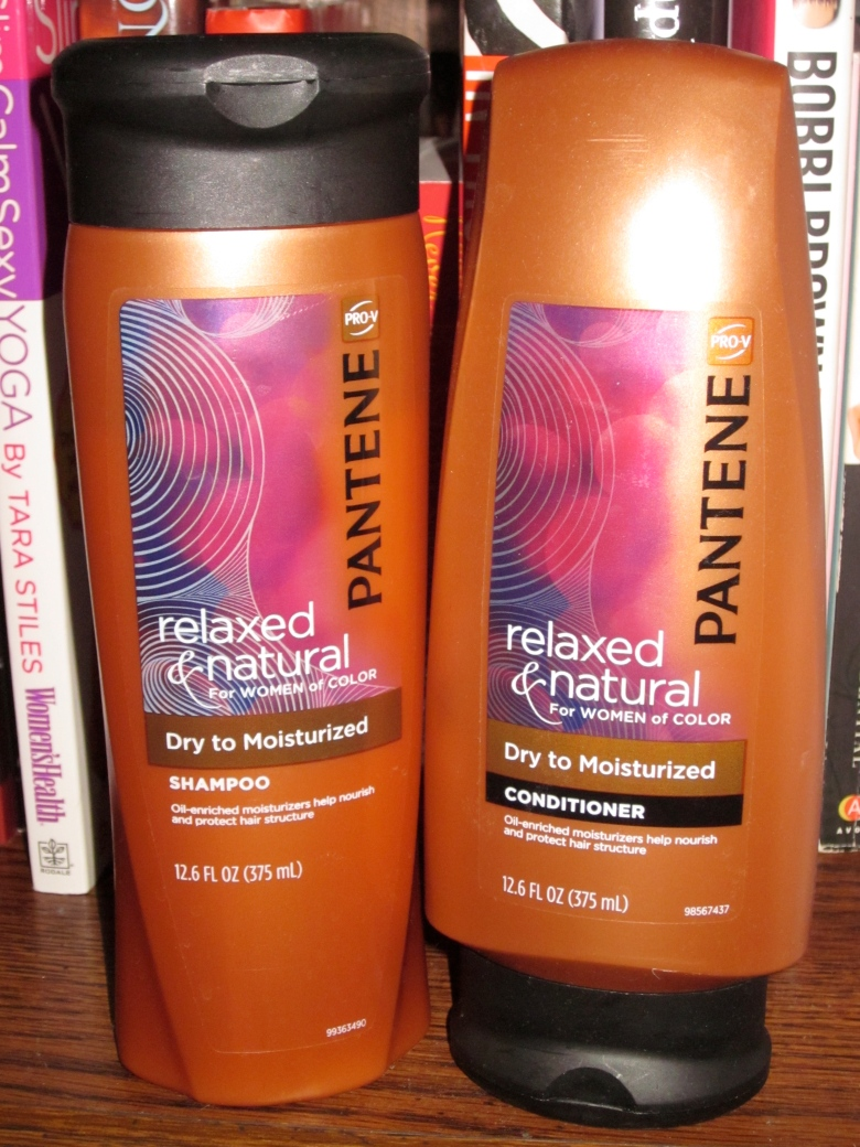 Pantene Pro-V Relaxed & Natural collection.