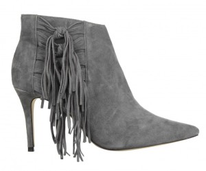 River Island Fall winter 2015 fringe ankle boot.