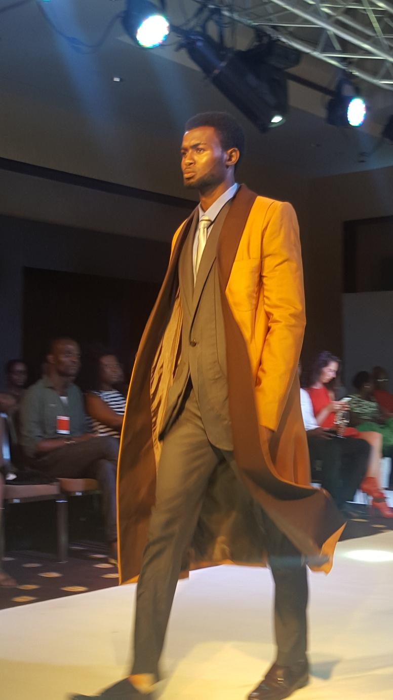 Owusu Kofi Michael menswear collection, Ghana Fashion & Design Week.
