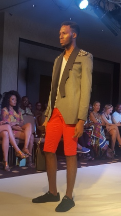 Radford University graduate label, Radiant Jackson menswear from Ghana.