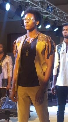 Radiant Jackson menswear from Ghana.